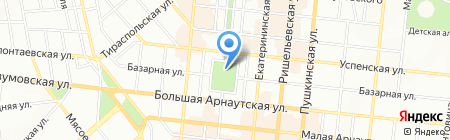 Летучий Голландец на карте Одессы