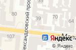 Схема проезда до компании Парус в Одессе