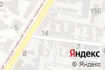 Схема проезда до компании Регул-авто в Одессе