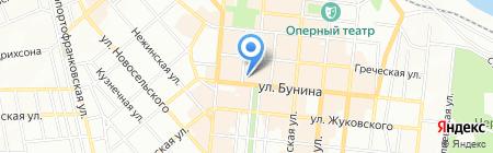 Трактир на Греческой на карте Одессы