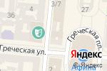 Схема проезда до компании Библиотека им. И.М. Вазова в Одессе