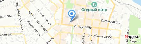 Шоколад на карте Одессы
