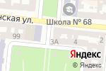 Схема проезда до компании Button в Одессе