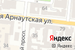 Схема проезда до компании Шик в Одессе