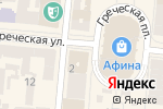Схема проезда до компании Мега-Антошка в Одессе