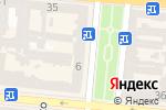 Схема проезда до компании Раса в Одессе