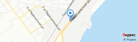 Ком-корд на карте Одессы