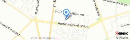 Дизайн-Строй ЧП на карте Одессы