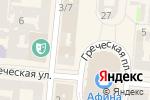 Схема проезда до компании FRY в Одессе