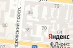 Схема проезда до компании Ноутбук Сервис в Одессе
