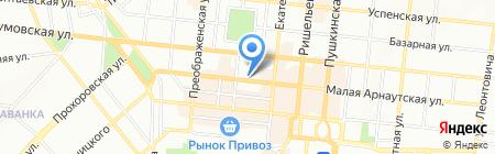 Одесское бюро путешествий и экскурсий ДП на карте Одессы