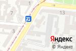 Схема проезда до компании Технологии Комфорта Плюс в Одессе