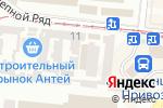 Схема проезда до компании ТехноSHOP в Одессе