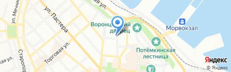 Вилково-Пеликан-Тур на карте Одессы