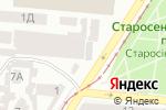 Схема проезда до компании Заза Flowers в Одессе
