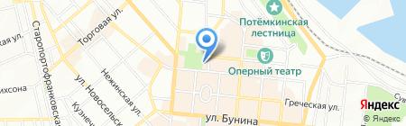 City Garden на карте Одессы