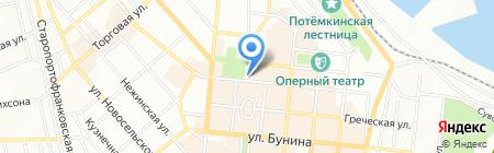Злачное на карте Одессы