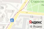 Схема проезда до компании КСД в Одессе