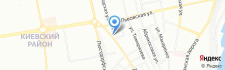 Колпак на карте Одессы