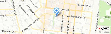 Детская музыкальная школа №15 на карте Одессы