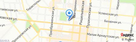 Укрінбанк на карте Одессы