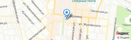 Чебуречная на карте Одессы