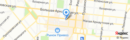 Банкомат УкрСиббанк на карте Одессы