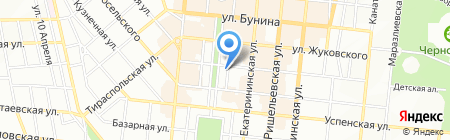 Люкс-тур на карте Одессы
