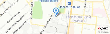 Детский сад-ясли №265 на карте Одессы