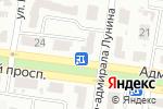 Схема проезда до компании Книга 33 в Одессе