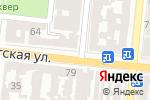 Схема проезда до компании Bosch в Одессе