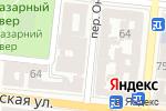 Схема проезда до компании NRG в Одессе