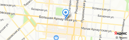 Центр офисной мебели на карте Одессы
