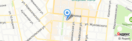 Банкомат КБ Інвестбанк на карте Одессы