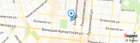 Глобал Одесса на карте Одессы