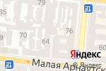 Схема проезда до компании Garnet Build в Одессе