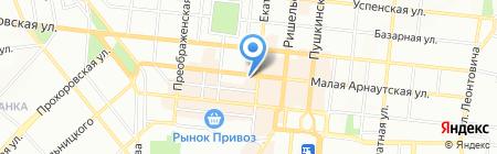 Тревел Тур Одесса на карте Одессы