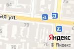 Схема проезда до компании Таировские вина в Одессе