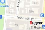 Схема проезда до компании Мономах в Одессе