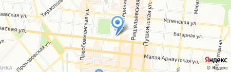 Циклон-Юг на карте Одессы