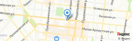 Таировские вина на карте Одессы