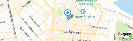 Эллиникон на карте Одессы