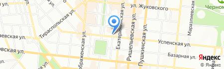 Tiora на карте Одессы