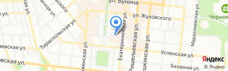 Мономах на карте Одессы