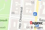 Схема проезда до компании Одесса в Одессе