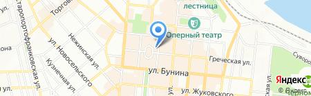 1-е туристическое агентство на карте Одессы