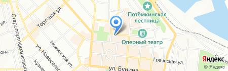 Банкомат КБ АкордБанк на карте Одессы