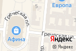 Схема проезда до компании Кватро в Одессе