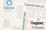 Схема проезда до компании Библиотека в Одессе