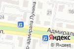 Схема проезда до компании Дисса в Одессе